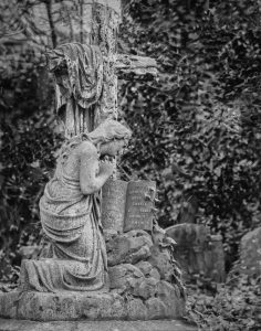 Stone Monument in Abney Park