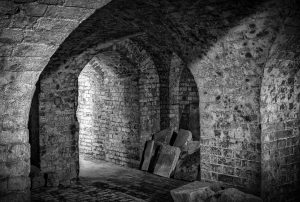Dungeon like cellar of Copped Hall, Epping